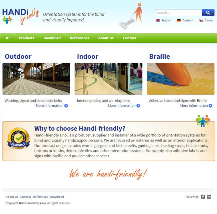 handi-friendly